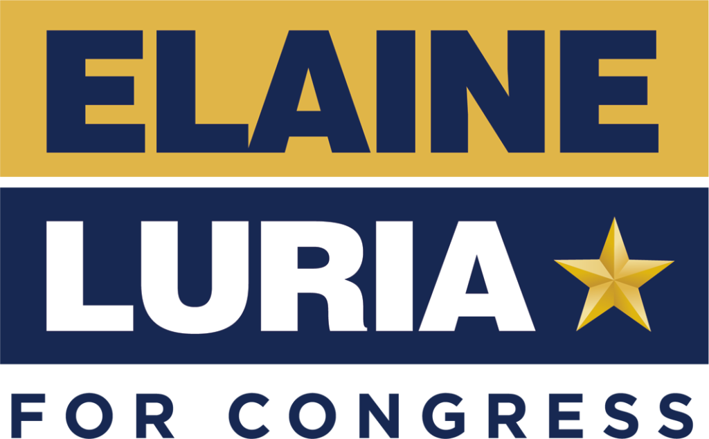 Elaine Luria for Congress logo